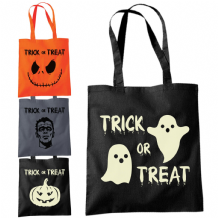 Halloween Shopper Tote Bags - Various Trick or Treat Designs Fashion Sweets Bag